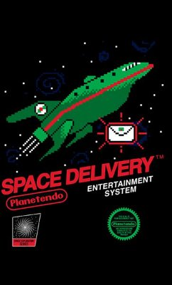 Camiseta Star Wars - Space Delivery
