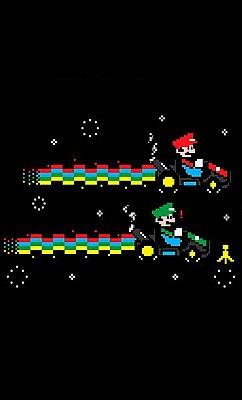 Camiseta Mario e Luigi - Kart