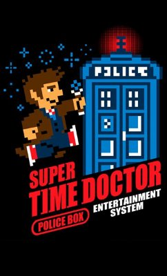 Camiseta Doctor Who - Super Time Doctor