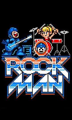 Camiseta Mega Men - Rock Man