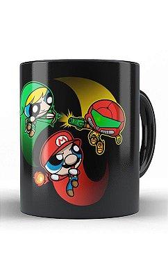 Caneca Meninas Super Mario