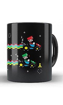 Caneca Mario e Luigi - Kart