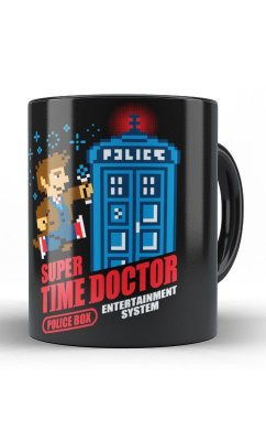 Caneca Doctor Who - Super Time Doctor