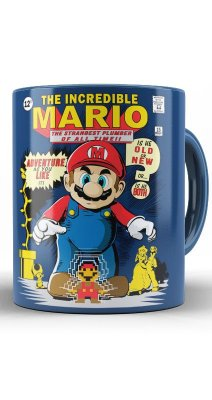 Caneca  The Incredible Mario