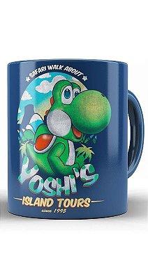 Caneca  Mario Yoshi's Isaland Tours