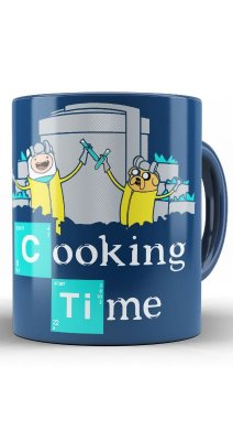 Caneca Breaking Bad Cooking Time