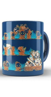 Caneca Star Wars Jawa Wrong Robots