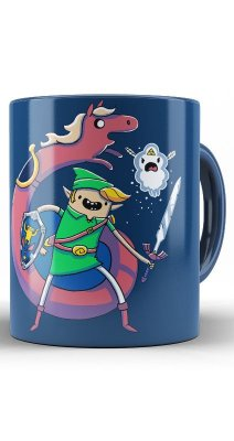 Caneca The Legend of Zelda ocarina time