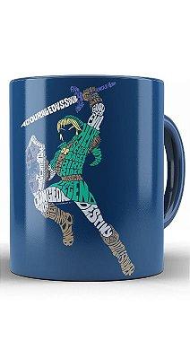 Caneca The Legend of Zelda Link Typographic