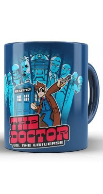 Caneca The Doctor U.S the Universe