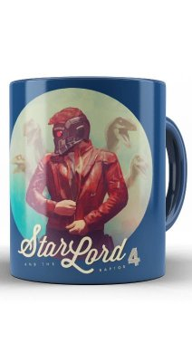 Caneca  Guardians of the Galaxy Star Lord
