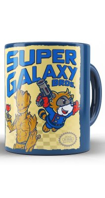 Caneca Super Galaxy Bros.
