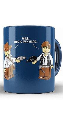 Caneca Star Wars Lego Han Solo