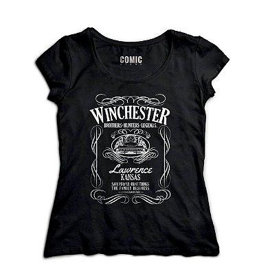 Camiseta Feminina  Sobrenatural Serie