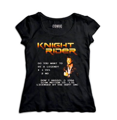 Camiseta Feminina  Knight Rider Serie