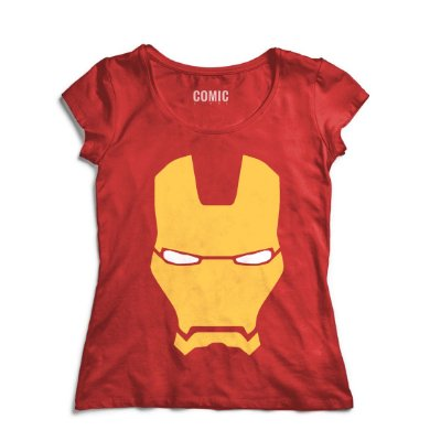 Camiseta Feminina  Iron Man