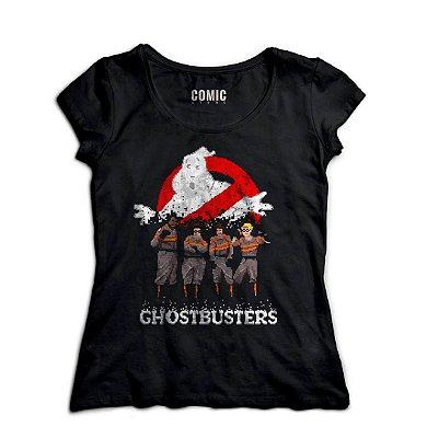 Camiseta Feminina  Os Caças Fantasmas