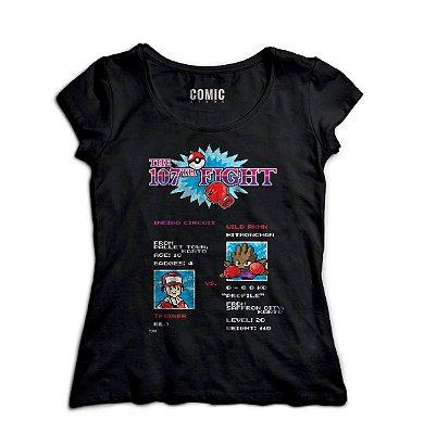 Camiseta Feminina  Pokemon Figth