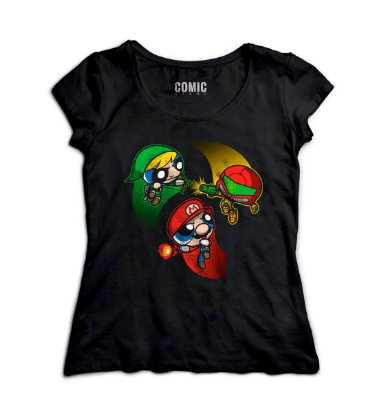 Camiseta Feminina  Meninas Super Poderosas