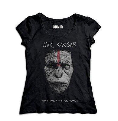 Camiseta Feminina Planeta dos Macacos