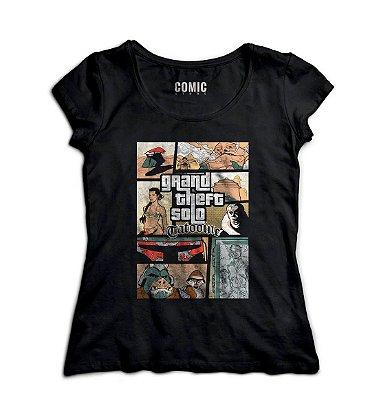 Camiseta Feminina  GTA - Jogo