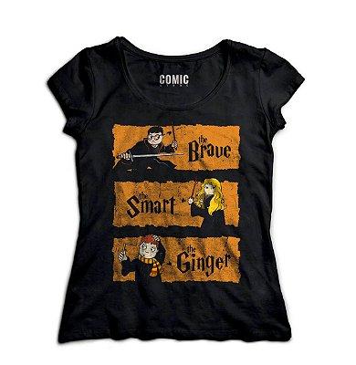 Camiseta Feminina  Harry Potter - Hermione Granger
