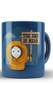 Caneca South Park  The end Is Neab