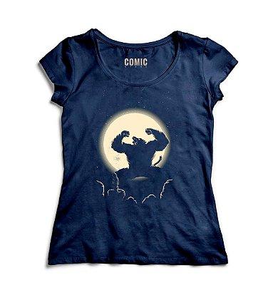 Camiseta Feminina  Dragon Ball Z  Transformation