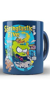Caneca  Simpsons The Springtastic Five