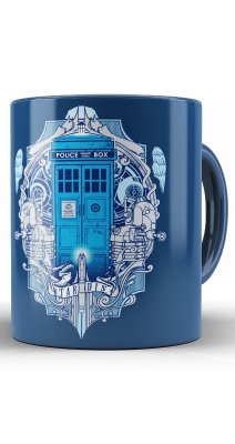 Caneca Doctor Who Police