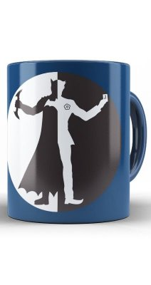 Caneca Batman vs Joker