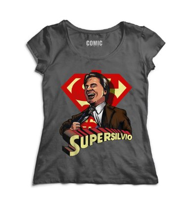 Camiseta Feminina Super Silvio