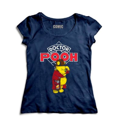Camiseta Feminina  Doctor Pooh