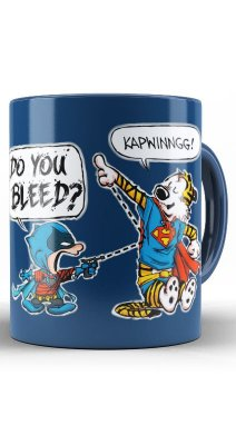 Caneca Batman Vs Super Men
