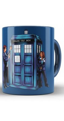 Caneca Doctor Who Police Call Box