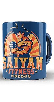 Caneca Saiyan Fitness