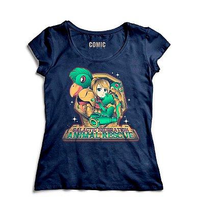 Camiseta Feminina  Golactic Animal