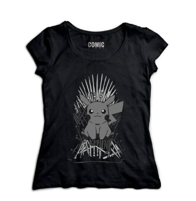 Camiseta Feminina Pokemon Thrones
