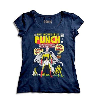 Camiseta Feminina  Punch Man