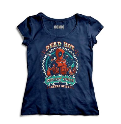 Camiseta Feminina  Deadpool Hot
