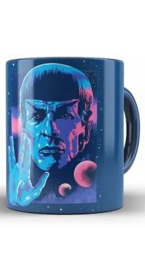Caneca Star Trek - Spock