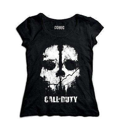 Camiseta Feminina  Call of Duty