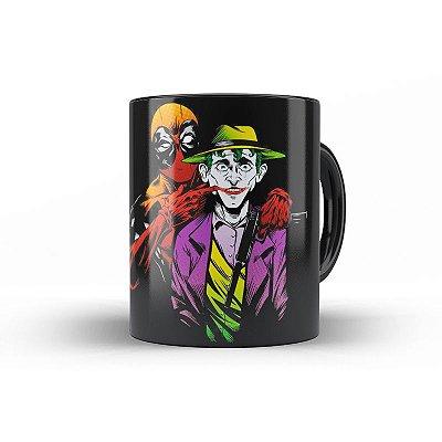 Caneca Homem Aranha vs Joker