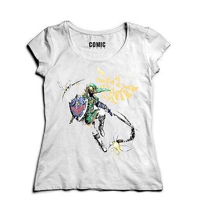 Camiseta Feminina  Zelda Link