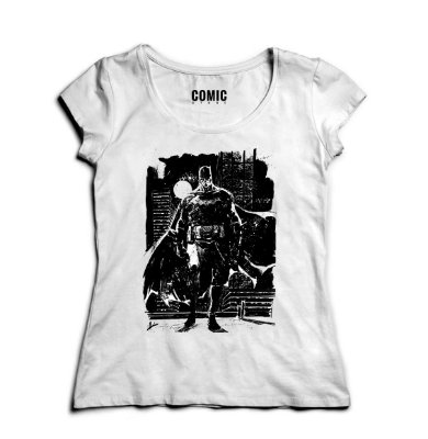 Camiseta Feminina  Batman Dark