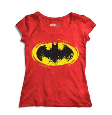 Camiseta Feminina  Simbolo do Batman