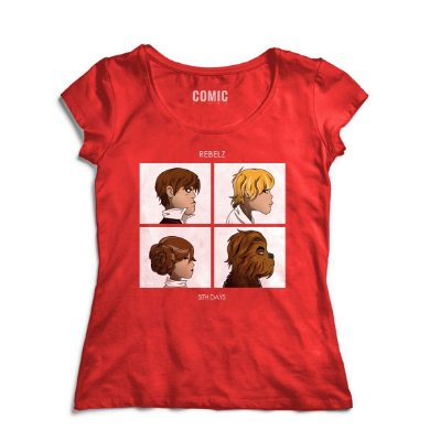 Camiseta Feminina  Star Wars Chewbacca