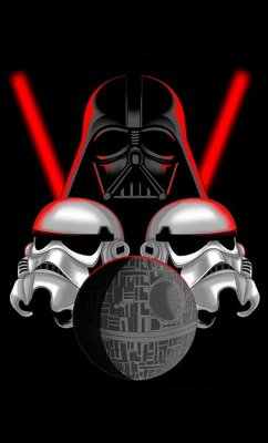 Camiseta Star Wars Darth Vader - Stormtrooper
