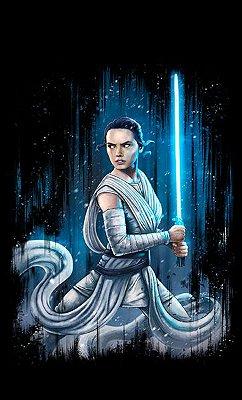 Camiseta Star Wars O desperta da Força - Rey