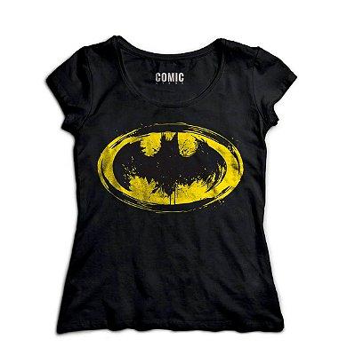 Camiseta Feminina  Batman Simbolo
